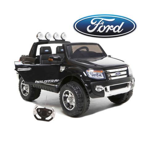 Ford Ranger 4x4 Pickup Truck Black 12v Kids Ride-On Car + Remote