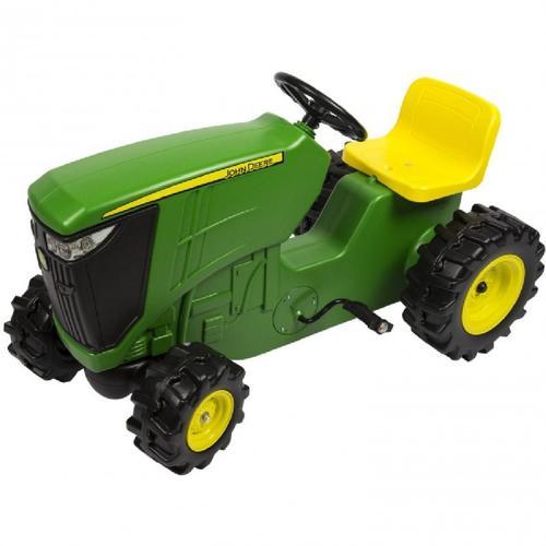 John Deere Kids Plastic Ride On Pedal Tractor