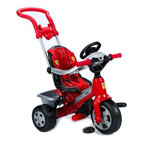 Feber Ferrari Convertible Red Pedal Trike