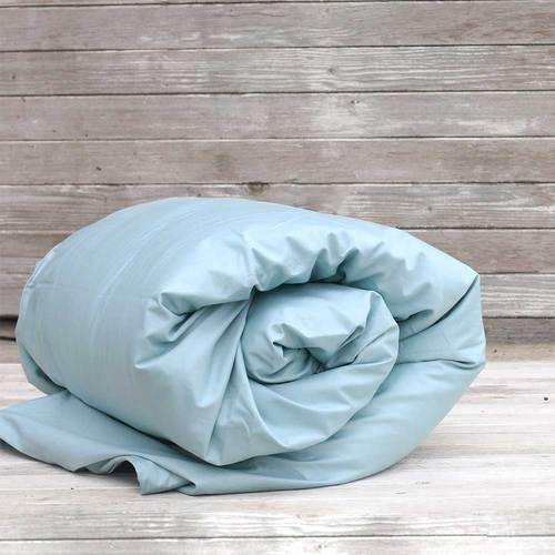 EDEN Quilt Cover - Duck Egg Blue