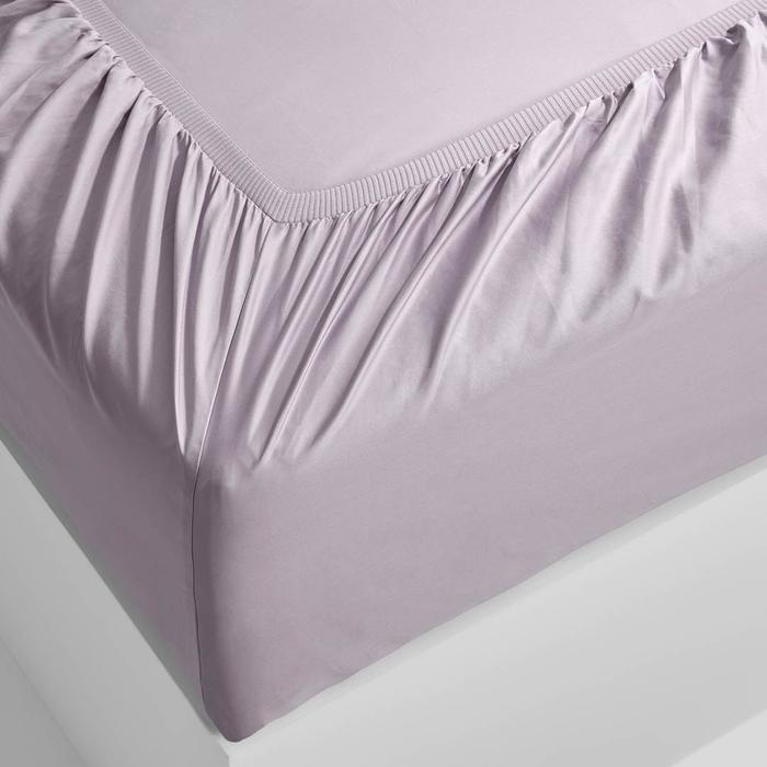 EDEN Fitted Sheet - Lilac