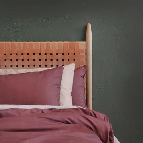 EDEN Luxe Cotton Sateen Quilt Cover - Rose