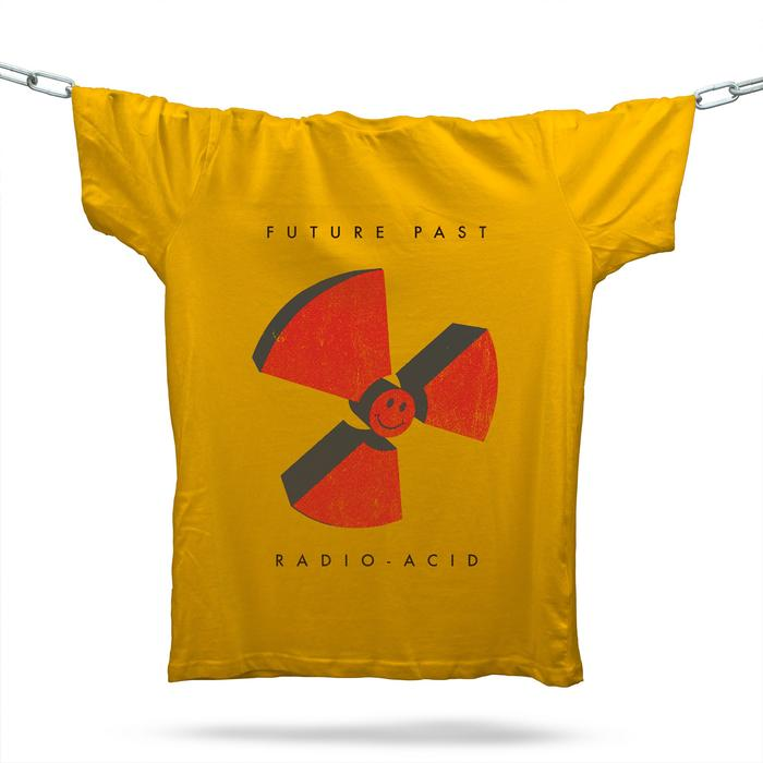 Radio-Acid T-Shirt / Gold