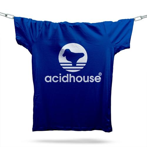 Acid House Sportswear T-Shirt / Royal