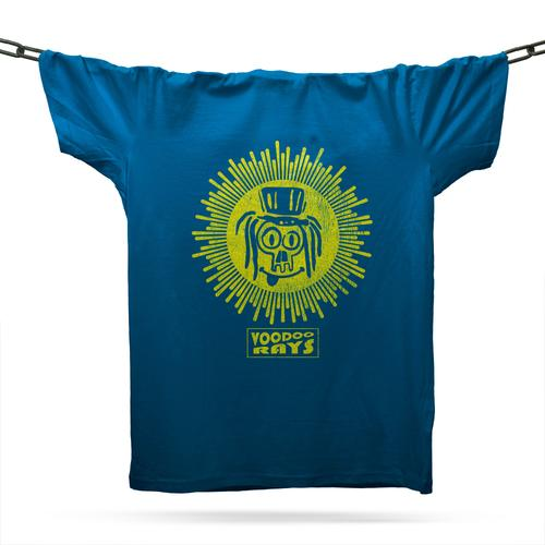 Voodoo Rays T-Shirt / Royal