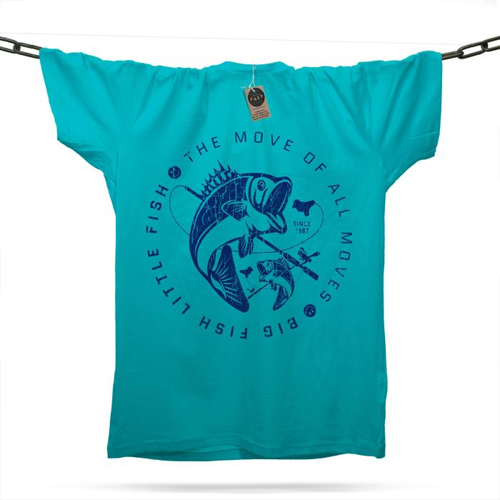 Big Fish Little Fish T-Shirt / Atoll