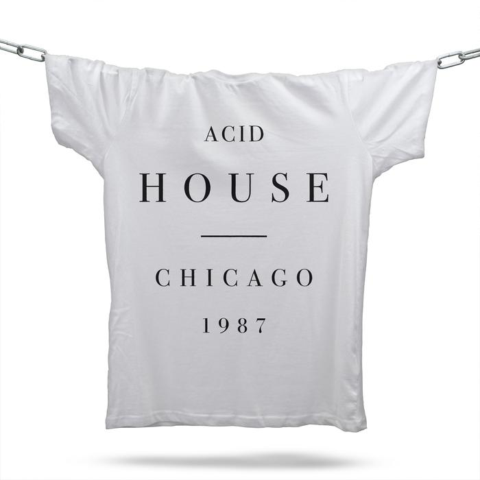 Acid House Substance T-Shirt / White
