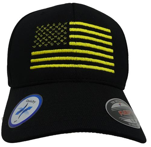 dd4bb9bd394 American Flag Cool   Dry Flex Fit Cap