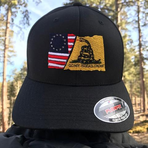 b772f743476 Gadsden Flag Stars   Stripes Flexfit Hat