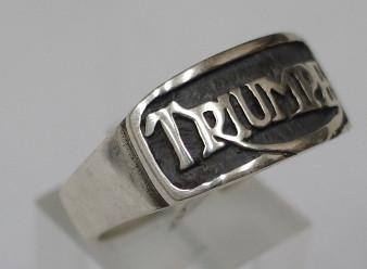 Sterling silver mens Triumph ring #11A