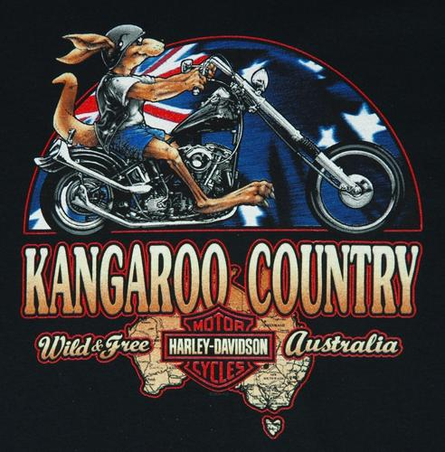 H-D Kangaroo Country Tee-shirt