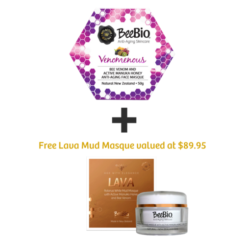 Hydrating Winter Treatment with Free Lava Mud Masque
