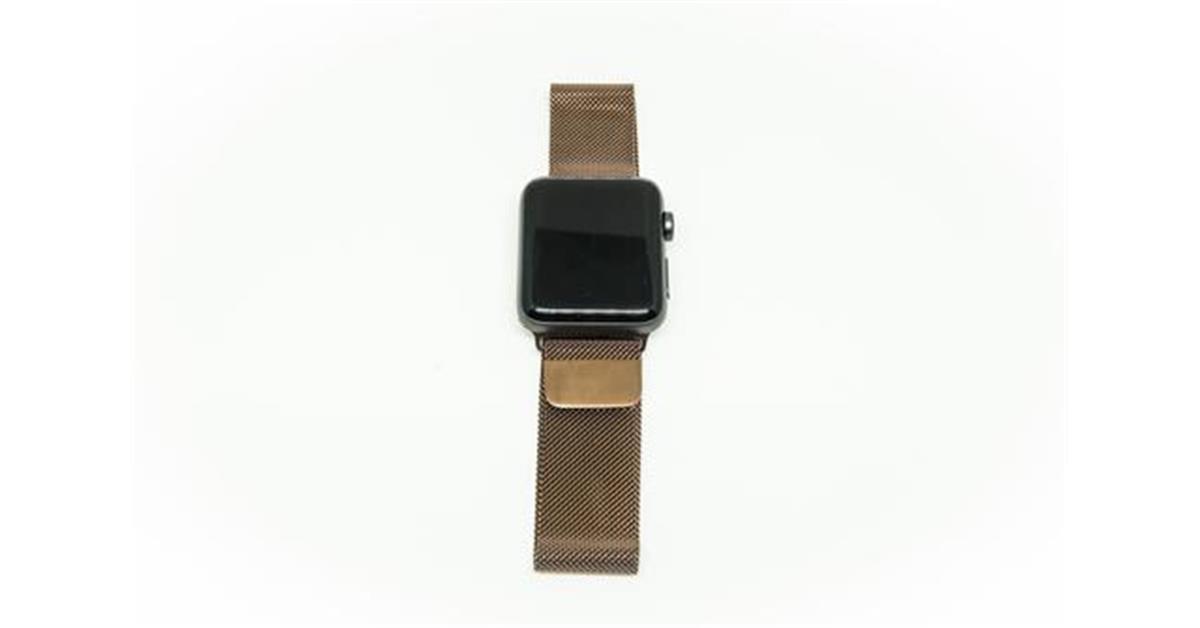 Coffee Milanese Loop Apple Watch Band
