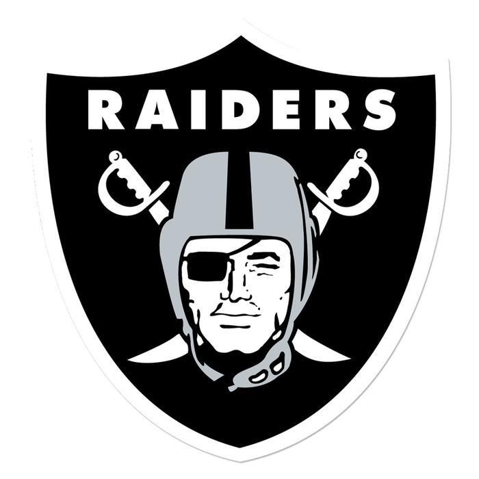 Raiders Wood Shield