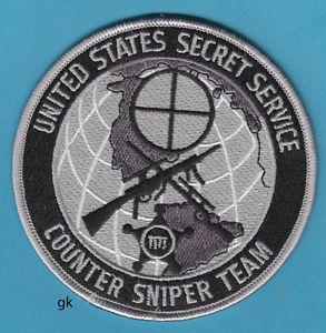 Counter Sniper Team Custom Wood Emblem