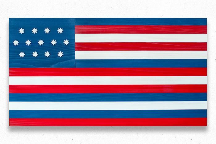 Serapis Wood Flag
