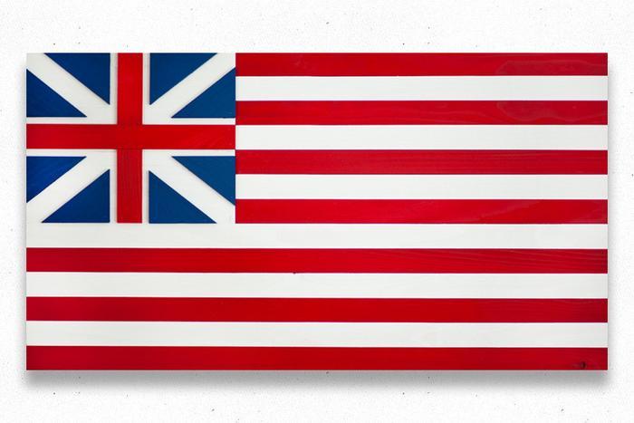 Grand Union Wood Flag