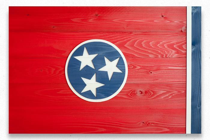 Tennessee Wood Flag