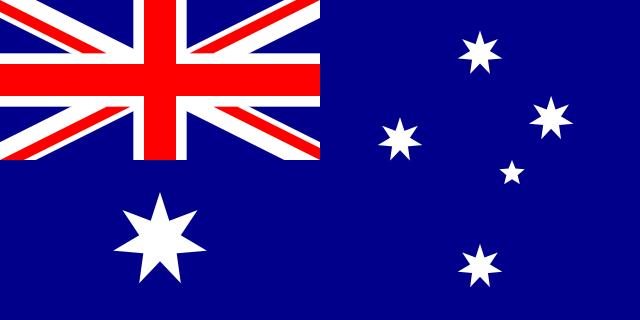 Australia Wood Flag