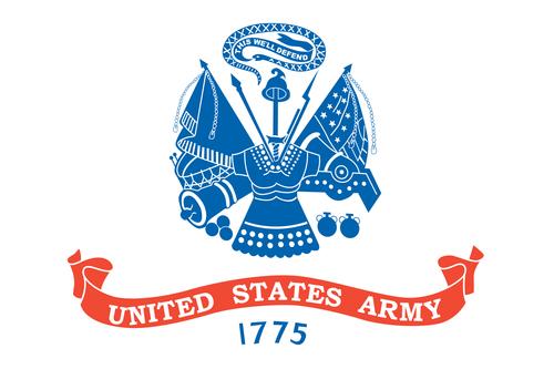 US Army Wood Flag