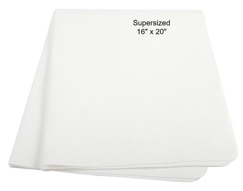 UltimateCloth BadBoy:  Classic White Supersized Cleaning Cloth