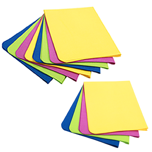 UltimateCloth COLORS: Buy Two '4-Packs' of our Bright Colored Mirafiber Cleaning Cloths @ Labor Day Special Pricing / Get 1 COLORS '4 Pack' FREE!