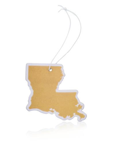 Gold Louisiana Air Freshener