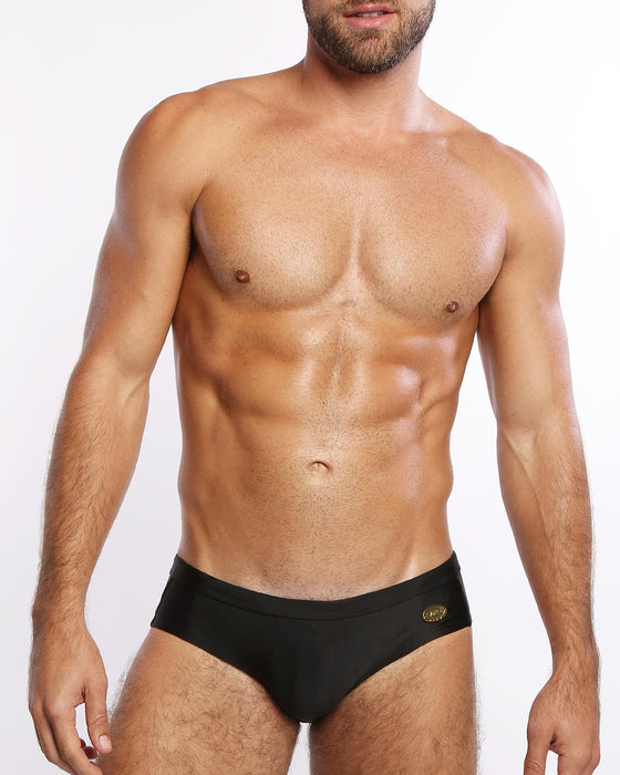 Black <br>Swim Brief