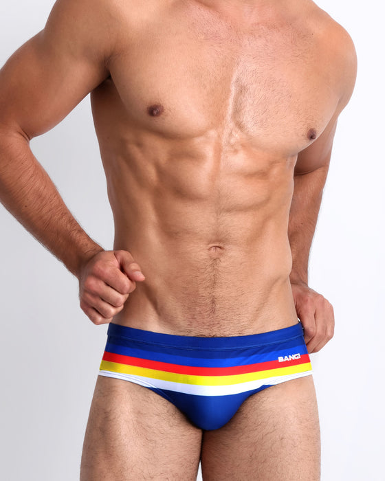 Stripe-A-Pose <br>Swim Brief