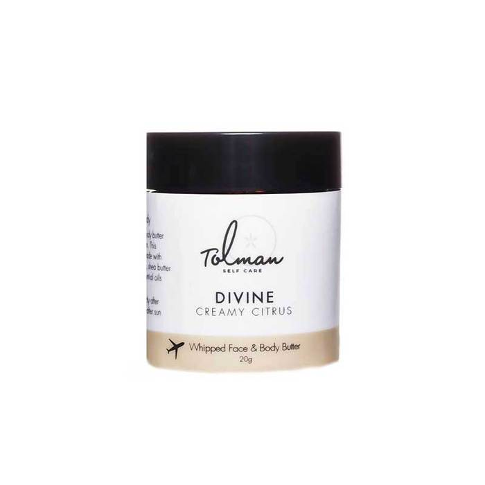 Divine Face & Body Butter by Don Tolman - Travel Size
