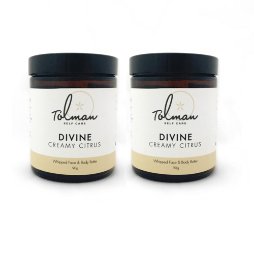 Divine Face & Body Butter Twin Pack by Don Tolman