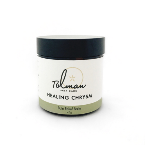 Healing Chrysm Pain Relief Balm by Don Tolman