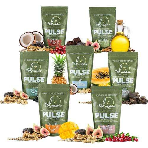 Seven Flavours of Pulse Raw Food by Don Tolman