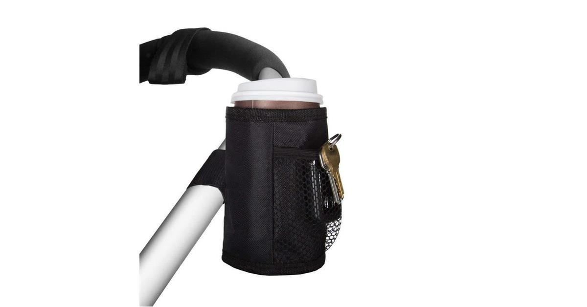 Thermal Insulated Cup Holder with Mesh Pockets