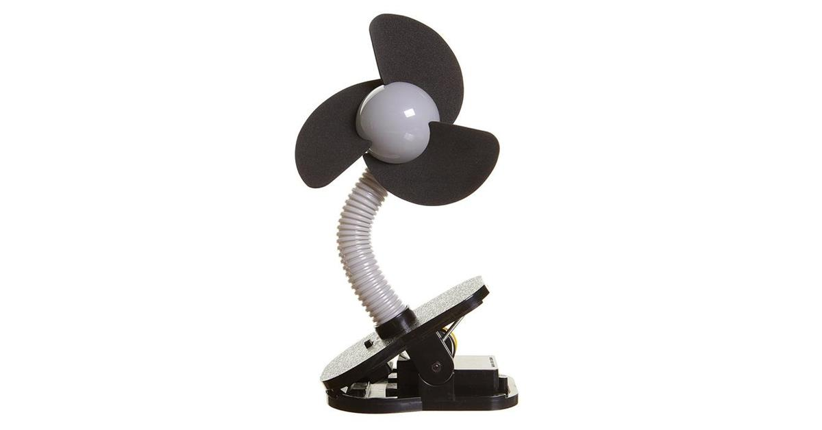 Clip-On Mini Travel Fan