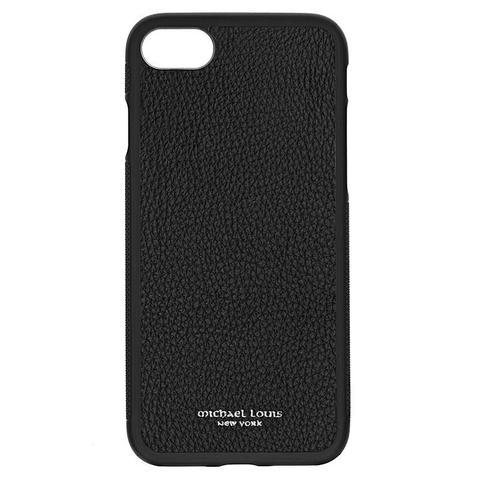 Black Pebbled Calfskin iPhone 7 / 8 Case
