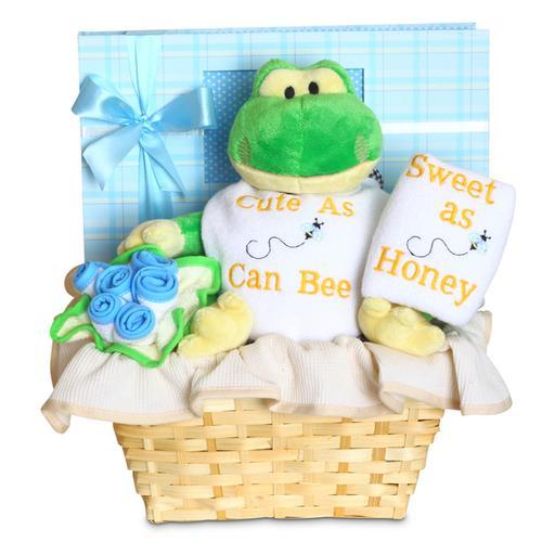 Cute and Sweet Baby Boy Basket (#BGC329)