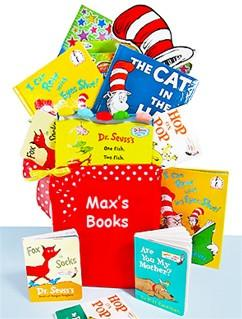 Dr. Seuss Books Library Tote (#BBC171)