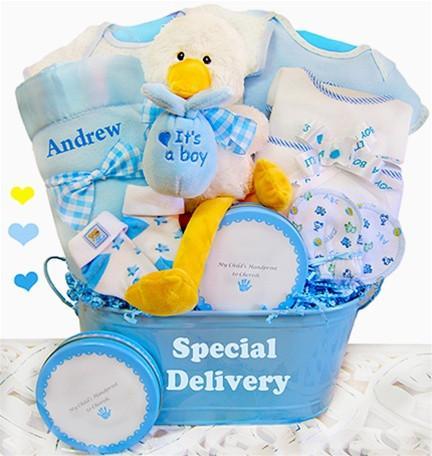 Special Delivery - Boy Basket (#BBC18)