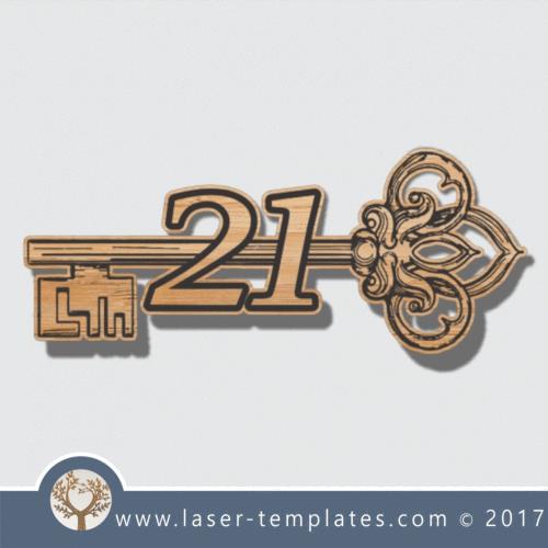 21st Key 9