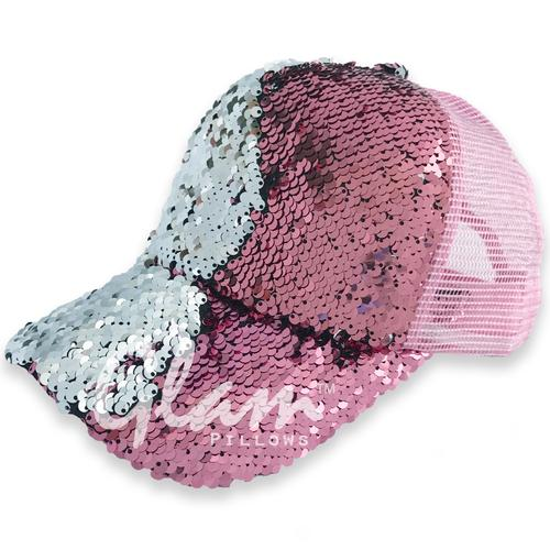 Reversible Sequin Glam Cap