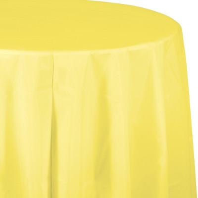 (12/case) Mimosa Plastic Tablecover 82''