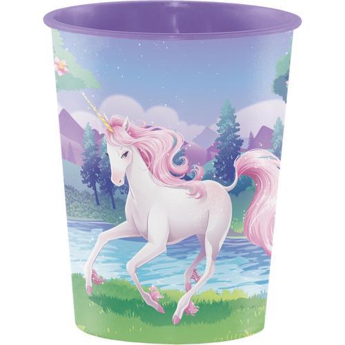 Unicorn Fantasy 16 Oz Plastic Keepsake Cup (12/case)