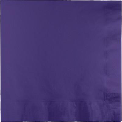 Purple Beverage Napkin, 2 Ply (600/case)
