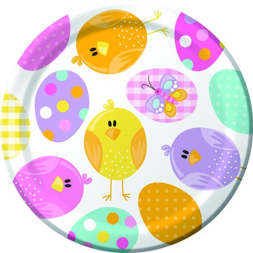 Easter Picnic Luncheon Plate (96/case)