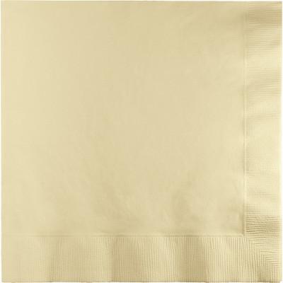 (250ct) Ivory Dinner Napkin, 3 Ply