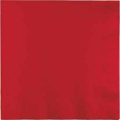 (600ct) Classic Red Luncheon Napkin, 2 Ply