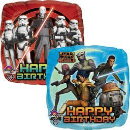 Star Wars Rebels Happy Birthday foil balloon