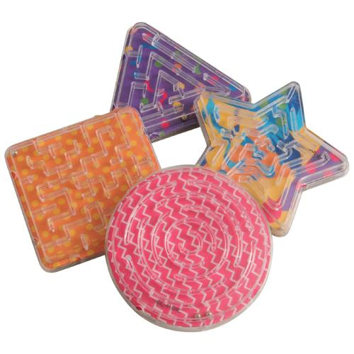Rainbow Party Maze Puzzle (pack of 12)