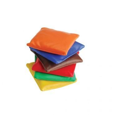 Small Assorted Vinyl Beanbags (One Dozen)